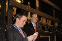 Senator Wyden visits the school!