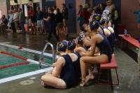 HRV's varsity girls eagerly watching their teammates.
