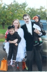 The Yasui Family honoring Edgar Allen Poe's most famous characters.