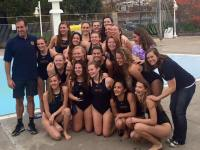 Water Polo Team Girls